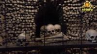 恐怖 教堂竟用具人骨做装饰