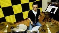 【小生架子鼓】架子鼓SOLO 775544 爵士鼓教程 教材 DRUM FILL 03