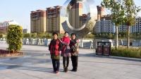 三姐妹齐聚黄骅南海公园观光游览