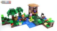 【黑白评测】★乐高LEGO★MineCraft我的世界21133女巫小屋