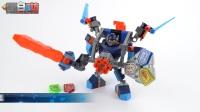 【黑白评测】★乐高LEGO★乐高未来骑士团70362克雷的超级战斗机甲