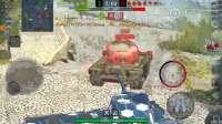 坦克世界闪电战 任务 舍身帮54扛一发
