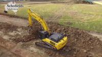 住友挖掘机和客戶工作报告在澳大利亚