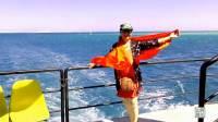 悠游埃及 蓝色的红海 乘游轮到红海吹吹非洲风