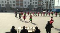 红沙梁镇上王化村2018年春节秧歌队