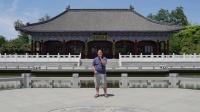 【2017.5.20】歌曲 台语情歌《爱情一阵风》流浪歌手朱坤 外景拍摄城阳国学公园