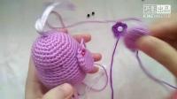 【小鸟挂件3】荷香亭手工坊 免费钩针玩偶教程 新手钩编 毛线娃娃零基础
