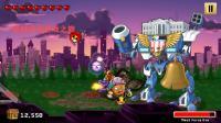 战暗冰海#八爪怪#5完结击败第五区域boss机械人老鹰 强力火龙DNA!