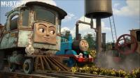 托马斯大电影之冲出多多岛系列 托马斯电动火车飓风托马斯石炭煤炭马林运输车套装介绍