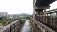 DF4B 7646牵引敞车专列快速通过西江大桥