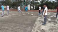 《足球腳內側運球》人教版初一體育與健康,劉洪旺