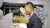消防兵浪漫爱巢温馨求婚女友