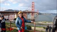 《美国西海岸之游》(一) 旧金山《九曲花街》《金门大桥》 2019年2月6日。