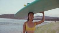 蓬岛藏影第二季《绿水青山》系列之《为大海卸妆的女孩》