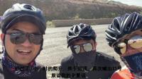 银川三小伙骑行翻越贺兰山,白天骑到黑夜终于到达阿拉善左旗
