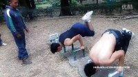 墨西哥城街头锻炼(健美操) - 街头户外健身