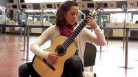 14岁女孩Antonia演奏索尔作品28号:引子与变奏