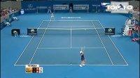 2010年 WTA布里斯班站决赛 克里斯特尔斯 VS 海宁 Highlight