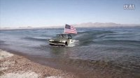 From SUV to Outboard - the Jeep boat Panther WaterCar