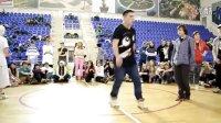 俄罗斯 2011 年底 鬼步舞 比赛 视频 Docuso vs boy 曳步舞