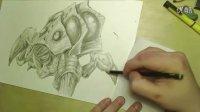 星际2爆虫手绘