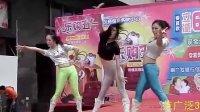 女孩舞蹈表演——2012汉商银座购物中心乐购五一文艺演出!