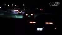 深夜に繰り広げられるカーレース