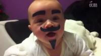 【Youtube精选】麻麻不在家 爹把孩子恶搞成这样