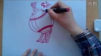 儿童画灯笼的画法根李老师学画画