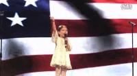 中美混血儿Kayla一曲国歌惊艳开幕式