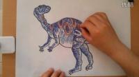 儿童画画恐龙4根李老师学画画