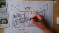 一点透视儿童画根李老师学画画