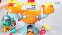 海底小纵队 Octonauts 八爪鱼玩具套装 费雪 巴克队长 呱唧 皮医生