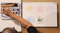 水彩画篇(4) 六种笔法之基本笔法——插画师的十二种武器之一  主讲:王东晟