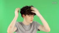 【小楠时尚频道】型男教程-男生如何打理自己的卷发