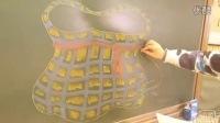 色粉笔在英语教学中的应用画口袋跟李老师学画画