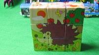 3 积木视频 积木玩具 小刺猬  拼装玩具 拼图游戏   小刺猬蓝豆豆 托马斯玩具 托马斯小火车游戏