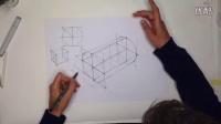 工业设计手绘几何体标准画法教程