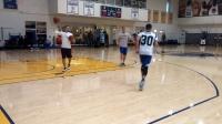 库里 16年总决赛期间  投篮训练 91篮球教学内部资料