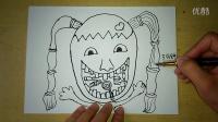儿童画如何预防蛀牙幼儿绘画(3-5岁)跟李老师学画画