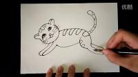 猫咪幼儿美术3-5岁跟李老师学画画.