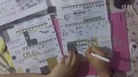 【狂躁症】plan with me (2) - happy planner