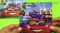 汽车玩具拼图游戏 面包超人益智拼图