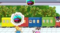 托马斯和他的朋友们运送小猪佩奇到学校筱白解说