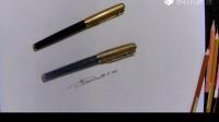 【艺达】彩铅零快速入门超写的画法——钢笔