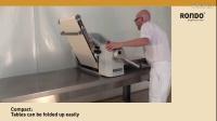 RONDO瑞士龙都: 桌上型压面机(开酥机,起酥机,酥皮机)