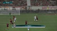 巴打Brother足球解说 实况17意大利杯1/4决赛 罗马vs切塞纳
