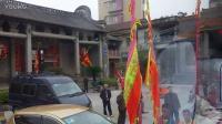 2017年大年初四-平地村民&黄群英社醒狮队前往里水象岗村参加新春团拜-醒狮头牌大旗装车