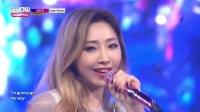 【风车·韩语】前2NE1孔敏智初舞台《Superwoman》冠军秀现场版