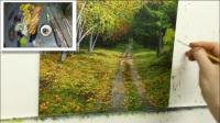 古典油画风景-草地与树画法 【收藏篇】《孙仙桥老师推荐视频系列》